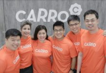 Senior management team of Carro
